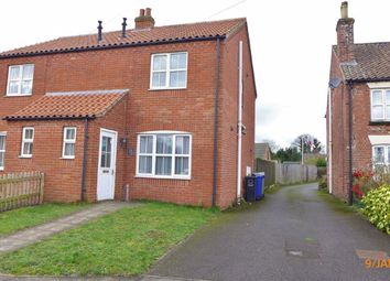 Thumbnail 2 bed semi-detached house to rent in Walesby Road, Market Rasen