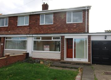 Thumbnail 3 bed semi-detached house to rent in Alexandra Road, Ashington
