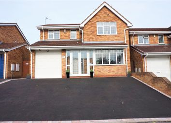 Thumbnail 4 bed detached house for sale in Chichester Drive, Heath Hayes