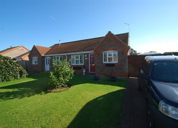 Thumbnail 2 bed bungalow for sale in Mill Close, Wainfleet, Skegness