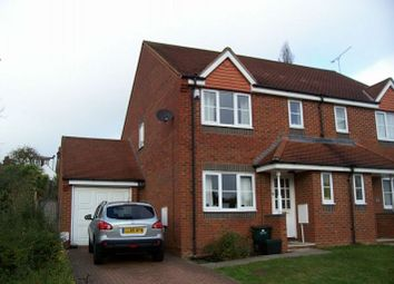 Thumbnail 3 bed semi-detached house to rent in Orient Close, St.Albans