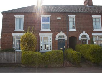 Thumbnail 2 bed end terrace house to rent in Leopold Road, Norwich