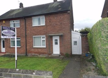 Thumbnail 2 bed semi-detached house to rent in Bevan Way, Chapeltown, Sheffield