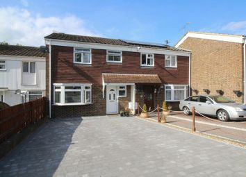 Thumbnail 3 bed terraced house for sale in Trefoil Crescent, Crawley