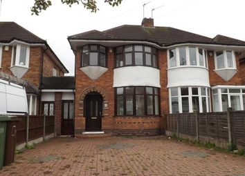 Thumbnail 3 bed semi-detached house for sale in Wellsford Avenue, Solihull, Birmingham, West Midlands