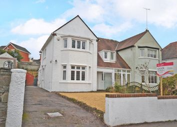 Thumbnail 3 bed semi-detached house for sale in Substantial, Replastered, Rewired House Allt-Yr-Yn Avenue, Newport