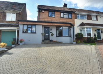 Thumbnail 4 bed semi-detached house for sale in Bracondale Avenue, Istead Rise, Gravesend, Kent