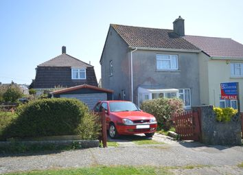 Thumbnail 2 bed semi-detached house for sale in Tresaderns Road, Redruth