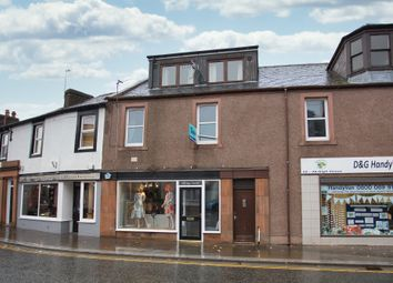Thumbnail 2 bed flat for sale in High Street, Lockerbie
