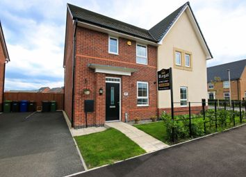 Thumbnail 3 bed semi-detached house for sale in Findley Cook Road, Wigan