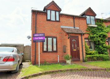 Thumbnail 2 bed semi-detached house for sale in Nanrock Close, Eastrington, Goole