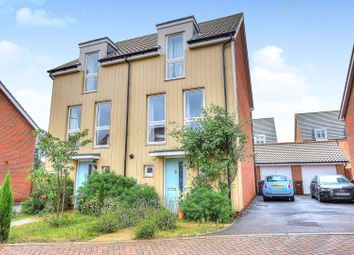 Thumbnail 3 bed semi-detached house for sale in Red Admiral Close, Norwich