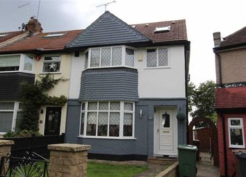 Thumbnail 4 bed end terrace house for sale in Drysdale Avenue, North Chingford, London