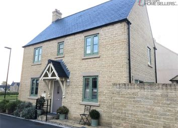 Thumbnail 3 bed detached house for sale in Gardner Way, Cirencester, Gloucestershire