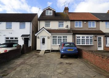 Thumbnail 4 bed end terrace house for sale in Straight Road, Romford