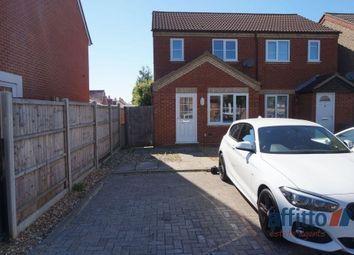Thumbnail 3 bed semi-detached house to rent in Grange Drive, Stotfold, Hitchin