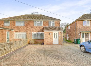Thumbnail 3 bed semi-detached house for sale in Burlands, Langley Green, Crawley