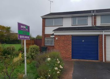 Thumbnail 3 bed semi-detached house to rent in Seneschal Road, Coventry