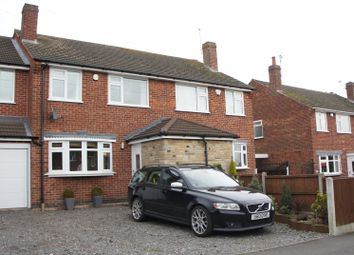 Thumbnail 5 bedroom semi-detached house for sale in Oakfield Avenue, Markfield