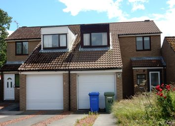 Thumbnail 3 bed semi-detached house for sale in 40 Arkle Court, Alnwick, Northumberland