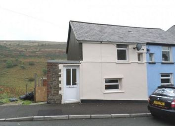 Thumbnail 2 bedroom end terrace house for sale in Brynteg Cottages, Tylorstown