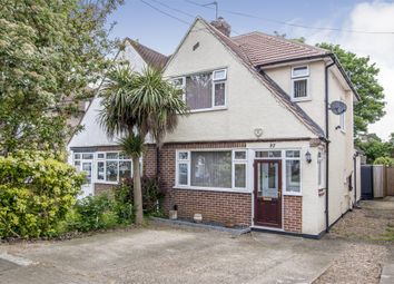 Thumbnail 3 bedroom semi-detached house for sale in Lodge Crescent, Orpington, Kent