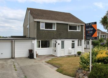 Thumbnail 2 bed semi-detached house for sale in Trefusis Road, Falmouth