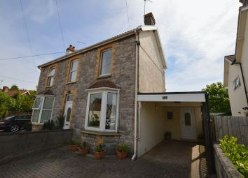 Thumbnail 3 bed semi-detached house for sale in Claverham Road, Claverham, Bristol