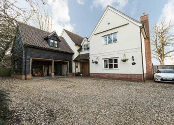 Thumbnail 5 bedroom detached house for sale in The Street, Gazeley