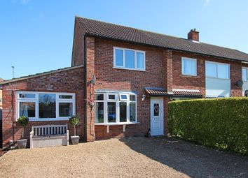 Thumbnail 2 bedroom semi-detached house for sale in Hill Close, Newmarket