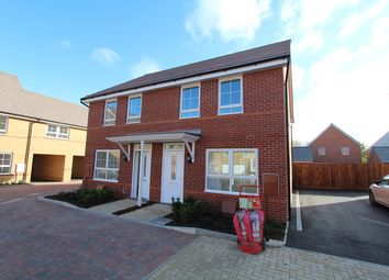Thumbnail 2 bed semi-detached house for sale in Fells Paddock, Marston Moretaine