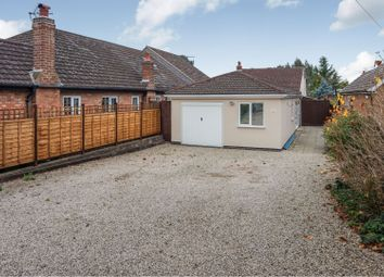 Thumbnail 4 bed detached bungalow for sale in Sports Road, Glenfield