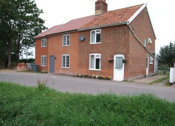 Thumbnail 2 bed semi-detached house for sale in Mill Road, Badingham, Woodbridge