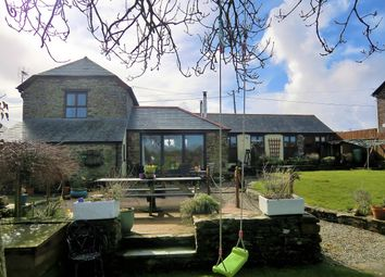 Thumbnail 3 bedroom barn conversion for sale in Canworthy Water, Launceston
