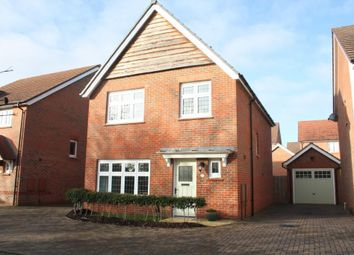 Thumbnail 3 bed detached house for sale in Messenger Road, Woodley