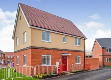 Thumbnail 3 bedroom end terrace house for sale in Goldfinch Drive, Attleborough