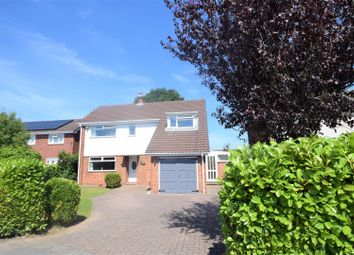 Thumbnail 4 bed detached house for sale in Townsend Avenue, Wrexham