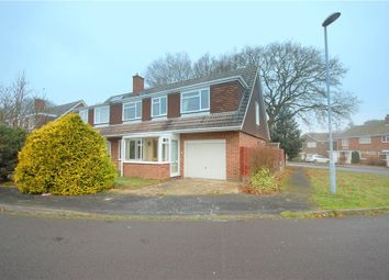 Thumbnail 4 bed semi-detached house for sale in Siskin Close, Ferndown