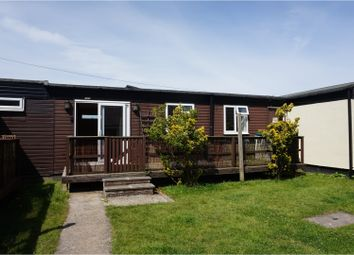 Thumbnail 2 bedroom mobile/park home for sale in Earnley, Chichester