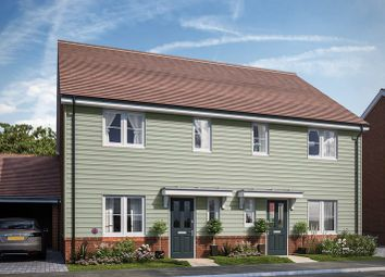 Thumbnail 3 bed semi-detached house for sale in Bells Lane, Hoo, Kent