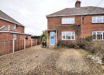 Thumbnail 3 bedroom semi-detached house to rent in The Green, South Creake, Fakenham