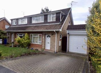 Thumbnail 3 bed semi-detached house for sale in Fleet, Hampshire