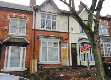 Thumbnail 3 bed terraced house for sale in Frances Road, Erdington, Birmingham, West Midlands