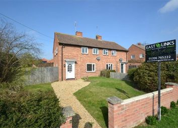 Thumbnail 3 bed semi-detached house to rent in Ramparts Cottages, Coach Road, Great Horkesley, Colchester