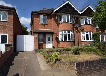 Thumbnail 3 bed semi-detached house for sale in Ambergate Drive, Birstall, Leicester