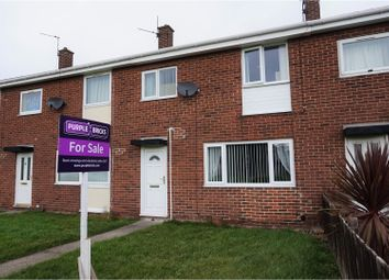 Thumbnail 3 bed terraced house for sale in Thorntree Gardens, Ashington