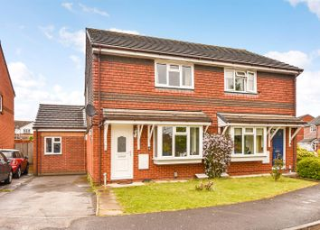 Thumbnail 4 bed semi-detached house for sale in Bremen Gardens, Andover