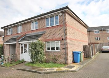 Thumbnail 3 bed semi-detached house to rent in Ann Moss Way, London