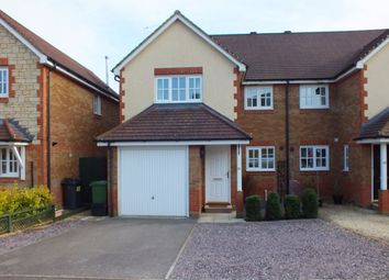 Thumbnail 4 bed semi-detached house to rent in Newhurst Park, Hilperton, Trowbridge