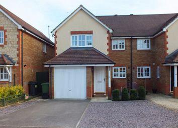 Thumbnail 4 bedroom semi-detached house to rent in Newhurst Park, Hilperton, Trowbridge